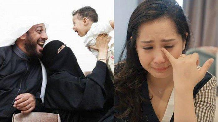 Voicenote Terakhir Syekh Ali Jaber ke Raffi, 'Sedih' Kondisi Terkini Istri yang Hamil, Nagita Nangis