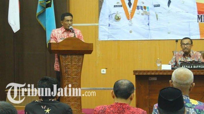Wabup Blitar Marhaenis Pimpin Rapat Konsultasi Publik Ranwal RKPD, Sebut 6 Prioritas di 2021