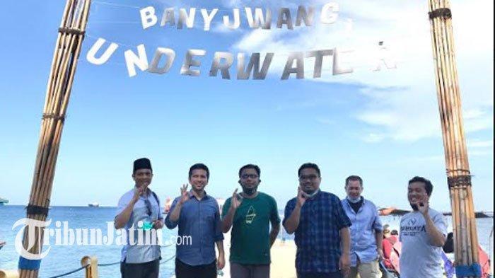 Wagub Emil Takjub Kunjungi Bangsring Underwater Banyuwangi,Keren: Bisa Ditiru Masyarakat Pesisir