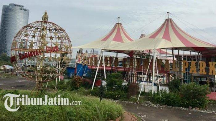 Surabaya Night Carnival Dibongkar, Beberapa Wahana Dipindah ke Jatim Park 3