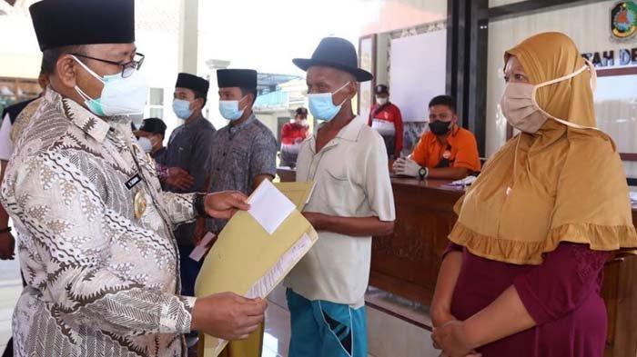 Penyaluran Bantuan Sosial Tunai untuk Warga Banyuwangi Terdampak Pandemi Capai 60 Persen Lebih