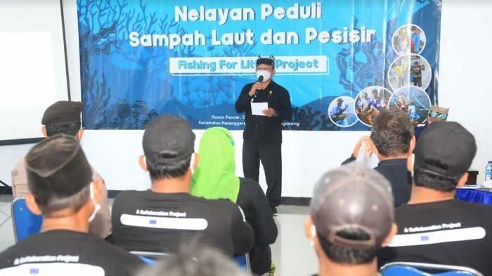 Setelah Pulau Merah, EcoRanger Dampingi Nelayan Pancer Banyuwangi Kelola Sampah Laut