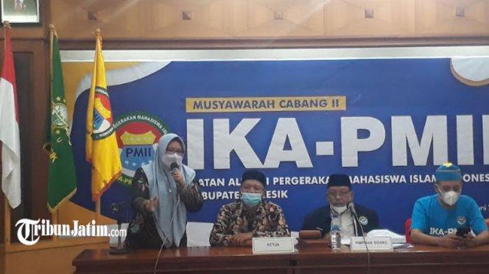 Terpilih Pimpin IKA PMII Kabupaten Gresik, Wabup Bu Min Gaungkan Sinergi Mensejehterakan Masyarakat