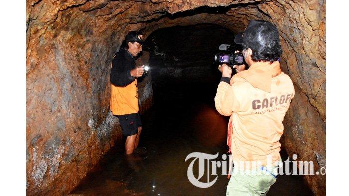 Saat Para Pejabat Menikmati Sensasi Ekspedisi Bunker Goa Jepang dan Alas Puspo di Gunung Wilis