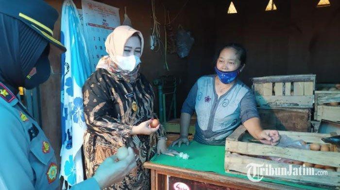 Wabup Lisdyarita Sidak Pasar dan Supermarket di Ponorogo, Pastikan Harga Stabil dan Prokes Dipatuhi