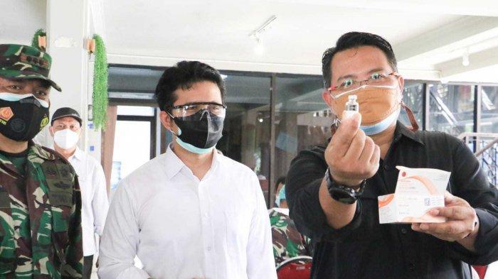 Puji Vaksinasi Massal di PT SIER, Wagub Emil Dardak Sebut Pelaksanaan Ideal dan Representatif