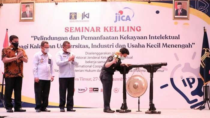 Jawa Timur Kini Punya Klinik Kekayaan Intelektual, Tersebar di Lima Kantor Bakorwil Jatim