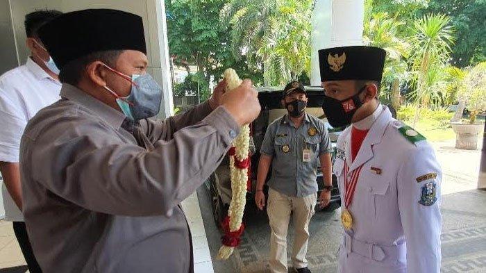 Pelajar Pasuruan yang Lolos Paskibraka Nasional 2021 Dapat Apresiasi dari Wakil Ketua DPRD