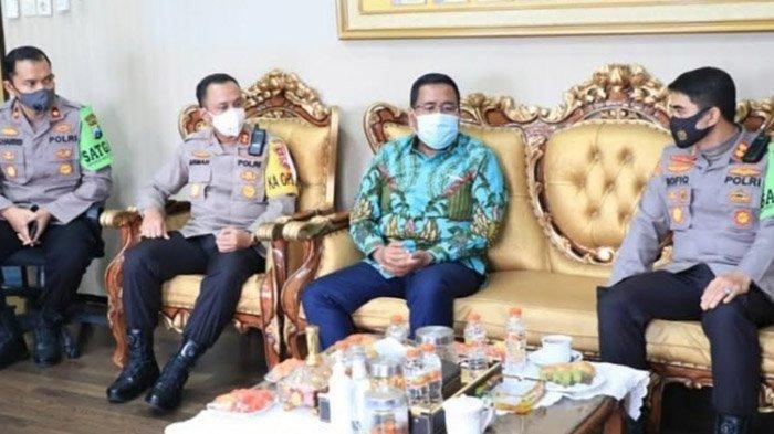 Wakil Ketua DPRD Jatim Temui Kepolisian Daerah, Pastikan Pilkada 2020 Patuhi Protokol Kesehatan