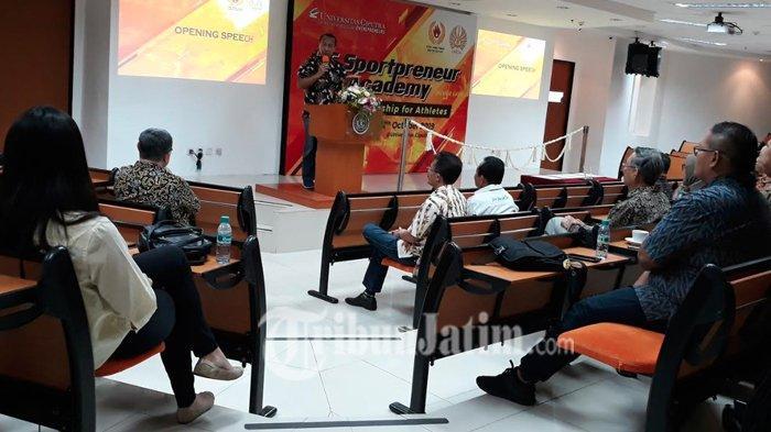 Gandeng Universitas Ciputra, KONI Jatim Ajak Barisan Mantan Atlet Latihan Bikin Bisnis