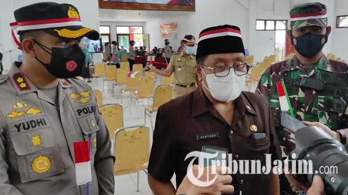 Kota Blitar Masih Masuk Level 4 Perpanjangan PPKM, Santoso Imbau Masyarakat Tetap Disiplin Prokes