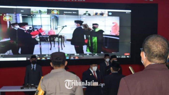 Sekda Kota Blitar Resmi Dijabat Kadishub Priyo Suhartono, Walikota Minta Segera Tancap Gas