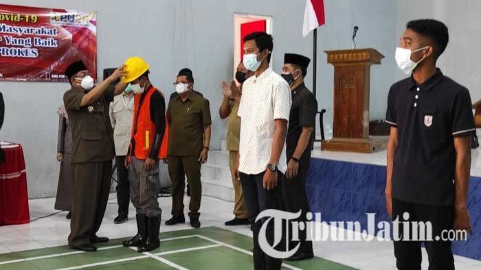 Wali Kota Blitar Harap Program Cash For Work Buka Peluang Kerja Masyarakat di Masa Pandemi Covid-19