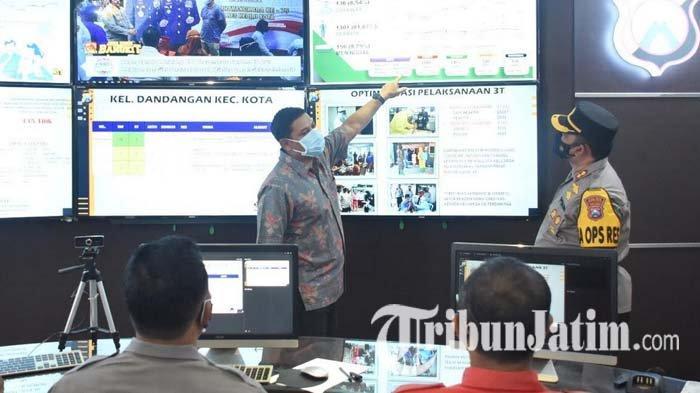 PPKM Darurat, Forkopimda Kota Kediri Berkolaborasi untuk Menekan Jumlah Kasus Covid-19