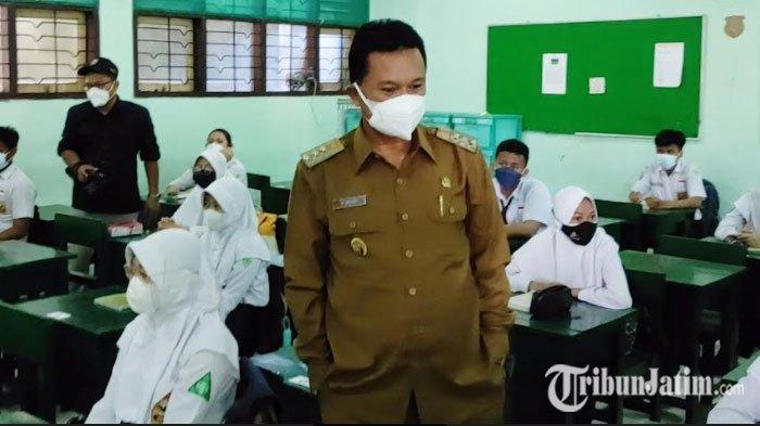 Kota Madiun Mulai PTM, Wali Kota Maidi Pastikan Semua Siswa Sudah Vaksin dan Tes Antigen