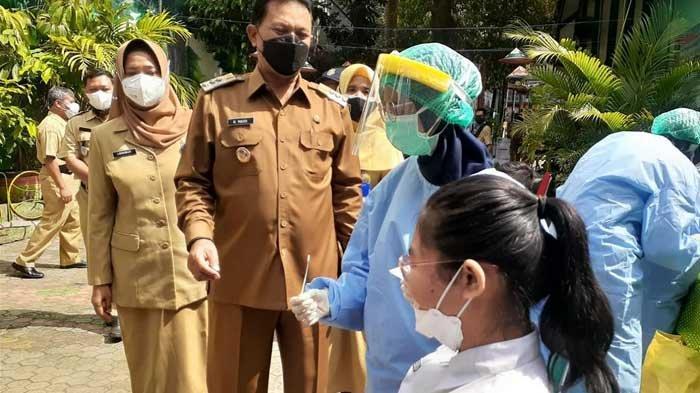 SD di Kota Madiun Mulai Terapkan PTM, Wali Kota Maidi Wajibkan Semua Siswa Tes Antigen Dulu