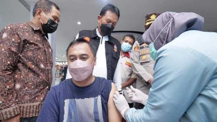 10 Persen Lagi, Wali Kota Maidi Targetkan Seluruh Warga Madiun Sudah Divaksin Covid-19 Bulan Ini