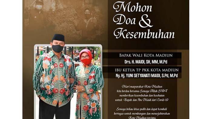BREAKING NEWS - Wali Kota Madiun Maidi dan Istri Positif Covid-19, Jalani Isolasi di RSUD dr Soedono