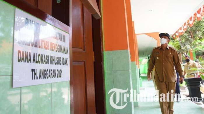 Wali Kota Maidi Tak Ingin Ada Bangunan SD Rusak hingga Bahayakan Siswa, Beri Peringatan Pemborong