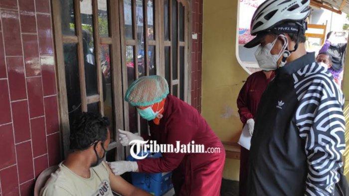 Dosis Pertama Capai 70 Persen, Wali Kota Maidi Gencarkan Vaksinasi Covid-19 Door to Door