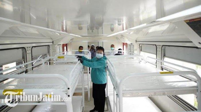 2 Tempat Isolasi Covid-19 di Kota Madiun Penuh, Wali Kota Maidi Siapkan Kereta Medis Darurat PT INKA