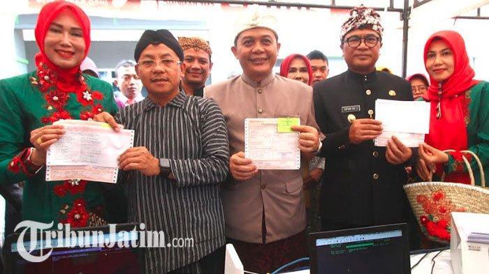 Launching SPPT PBB di Halaman Balai Kota Malang, Bayar Pajak Cukup lewat Smartphone
