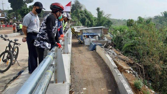 Sembuh dari Covid-19, Wali Kota dan Sekda Malang Langsung Gowes Pagi Tinjau Proyek Pembangunan