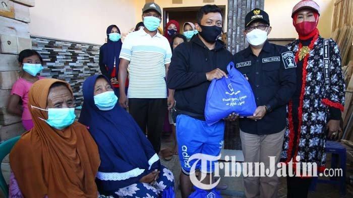 Peduli dan Berbagi, Pemkot Malang Beri Bantuan Warga Terdampak Gempa Bumi di Majang Tengah