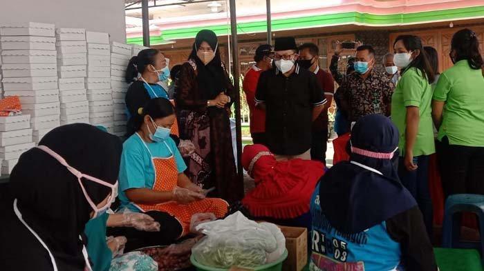 Wali Kota Malang Sutiaji Acungi Jempol Kepedulian Warga Gadang Bangun Dapur Umum untuk yang Isoman
