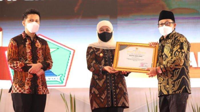 Kota Malang Raih Penghargaan Terbaik Kedua PPD Tingkat Provinsi Jatim
