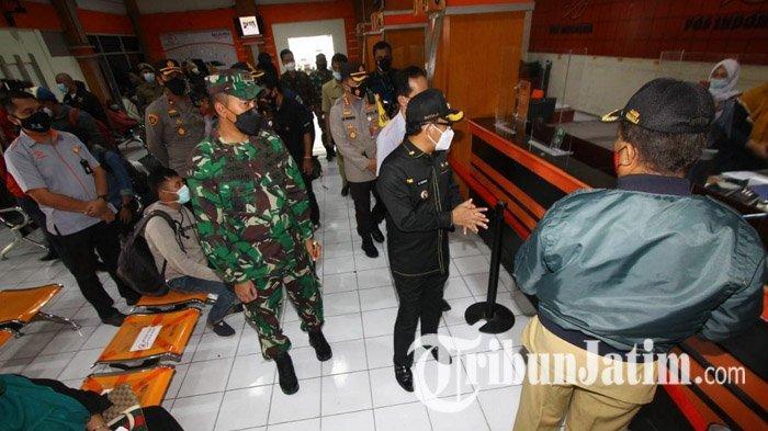 Cegah Penyebaran Covid-19 di Perkantoran, Forkopimda Kota Malang Sidak Kantor Instansi dan Restoran