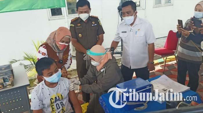 Ning Ita Optimistis Target Vaksinasi Covid-19 21 Ribu Anak di Kota Mojokerto Rampung Agustus 2021