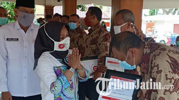 Wali Kota Mojokerto Apresiasi 13 Orang yang Konsisten Donor Darah 75 Kali: Pahlawan Tanpa Tanda Jasa
