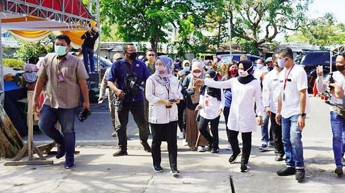 Pasar Benteng Pancasila Kota Mojokerto Siap Beroperasi, Seluruh Pedagang Gunakan Transaksi Digital