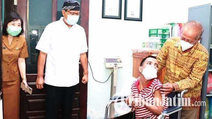 Delapan Puskesmas di Kota Pasuruan Layani Vaksinasi Covid-19 Penyandang Disabilitas