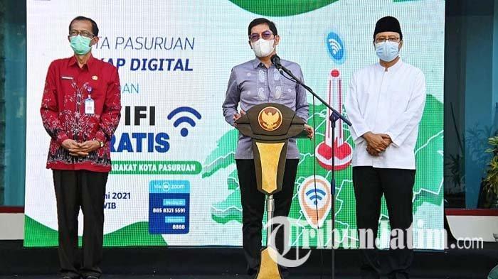 Layanan Wifi Gratis Gus Ipul di Pasuruan Dipuji Dua Kepala Daerah, Disebut Bisa Atasi Kemiskinan