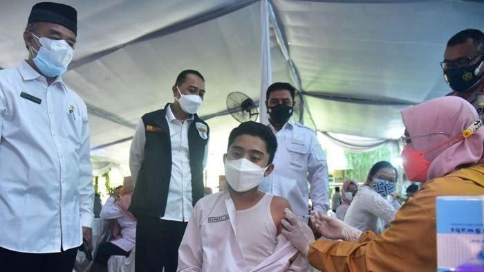 Pemkot Surabaya Mulai Gelar Vaksinasi Covid-19 Anak di Sekolah, Dapat Atensi dari Presiden Jokowi