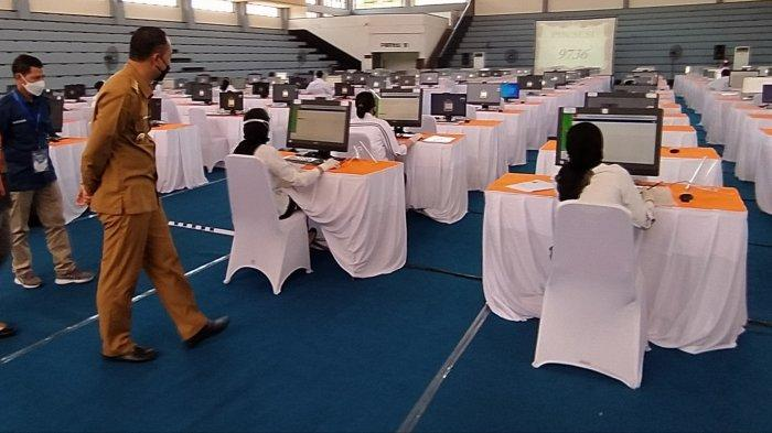 Ada Gangguan Internet, Sejumlah CPNS di Surabaya Tunda Tes 20 Menit