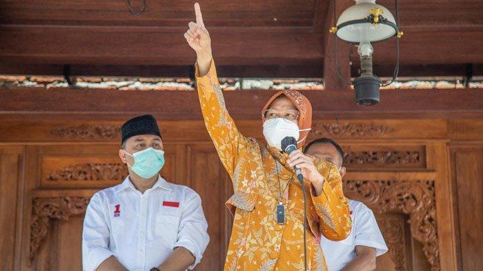 Pendukung Machfud Arifin Memuji Tri Rismaharini, Tim Eri-Cahyadi: Terima Kasih, Mari Pilih ErJi