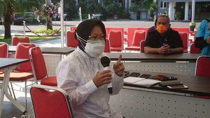 Usulan Tegas Risma ke Khofifah Tolak PSBB Jilid 4 Surabaya, Protokol Kesehatan Ketat: Ekonomi Jalan