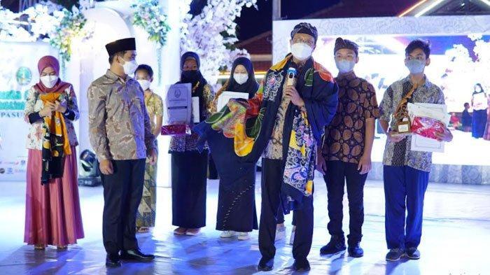 Pertama Kali Sejak Pandemi, Kota Pasuruan Gelar Festival Batik