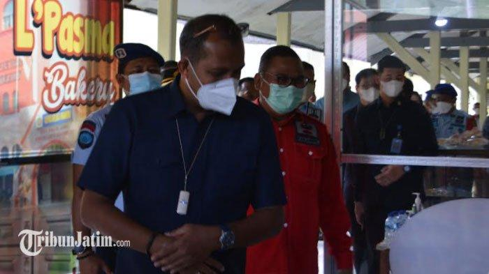 Wamenkumham Tinjau Vaksinasi Covid-19 di Lapas Madiun, 75 Persen Warga Binaan Tervaksin