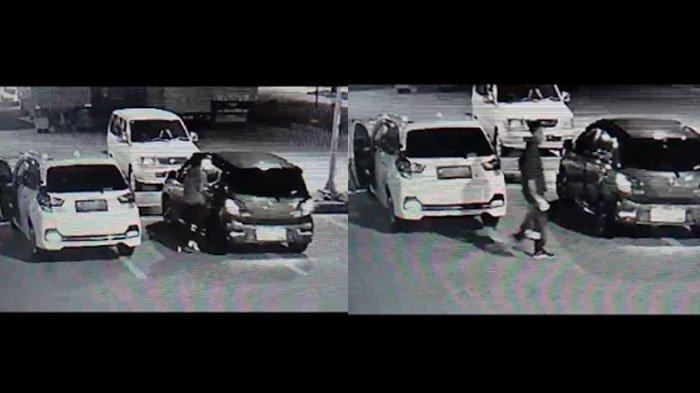 Istirahat di Tol, Wanita di Madiun Teriak Saat Mobilnya Diketuk Pria Asing, Semua Terekam di CCTV