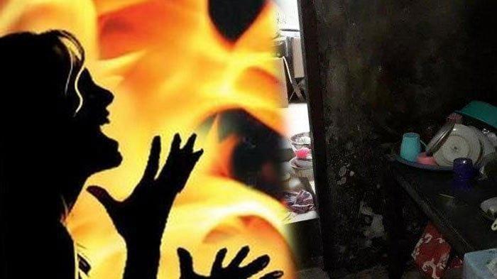 Tragis Wanita Tewas Dibakar Mantan Suami di Depan Bocah, Pelaku Ikut Dilalap Api, Teriakan Pilu
