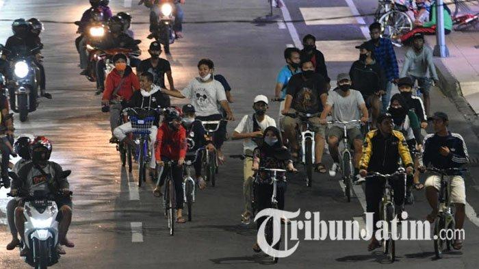 Bersepeda Jadi Tren Anyar Warga Surabaya, Dishub dan Kepolisian Perlebar Lajur Khusus Sepeda