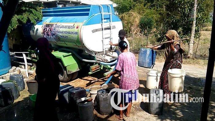 77 Desa di Bojonegoro Terdampak Kekeringan, BPBD Alokasikan Rp 200 Juta untuk Suplai Air Bersih