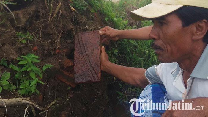 BPCB Jatim Bakal Melakukan Survei ke Lokasi Temuan Batu Bata Kuno di Dusun Bataan Bondowoso