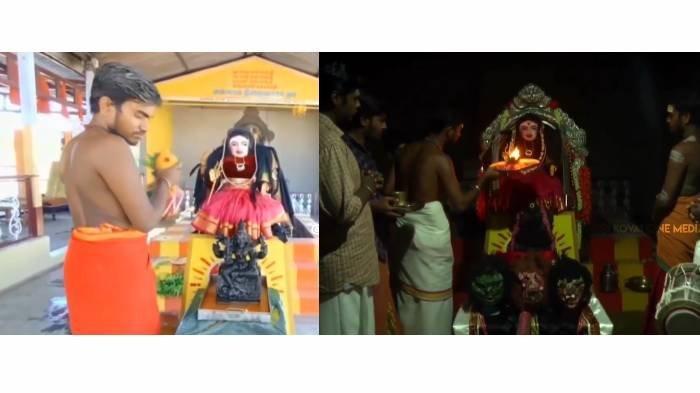 Cara Warga India Jinakkan Covid-19, Sembah Dewi Corona, Patung Dimandikan Pakai Air Kunyit dan Susu