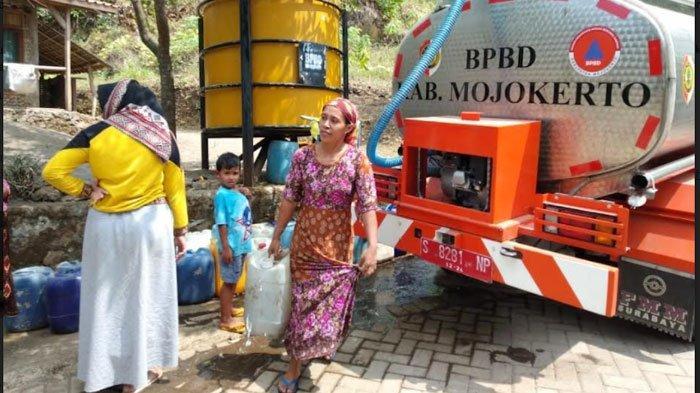Musim Kemarau, Warga Lereng Gunung Penanggungan Mojokerto Mulai Krisis Air Bersih
