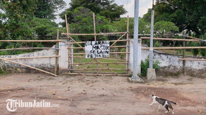 Warga Blokir Akses Masuk ke Situs Kumitir Mojokerto, Ini Pemicunya